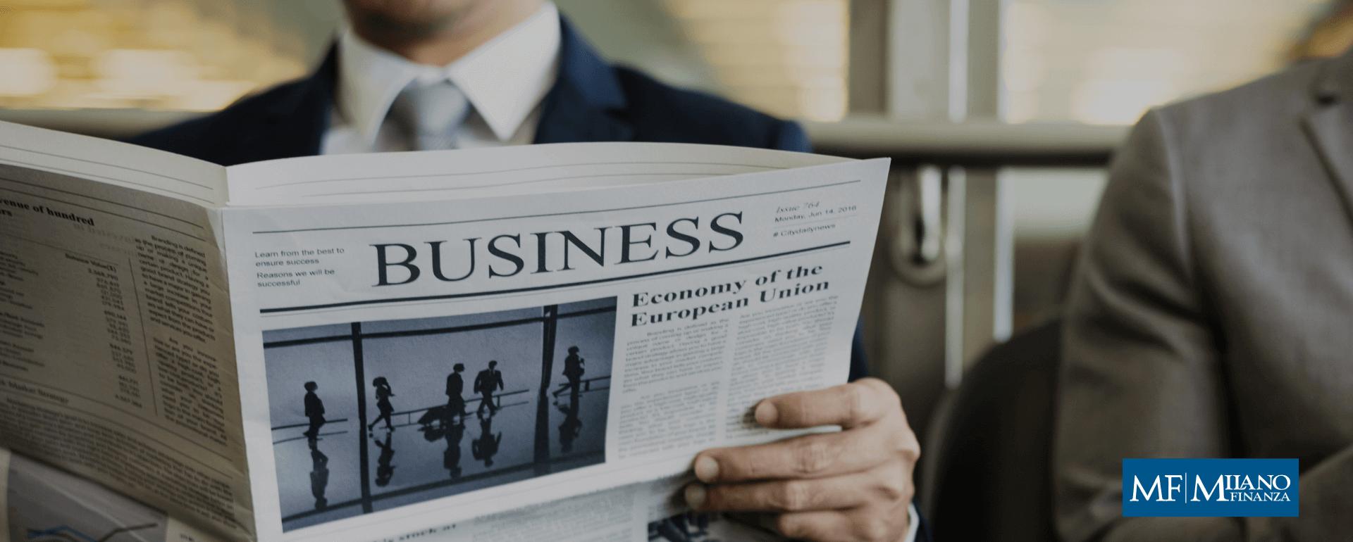 Milano Finanza racconta in un articolo le principali novità del Gruppo Holding