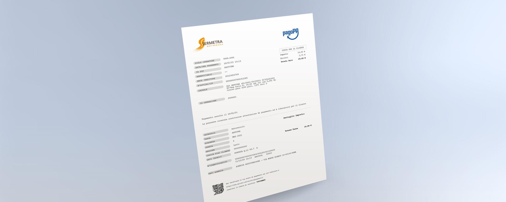 La piattaforma Pago PA di Sermetra Net