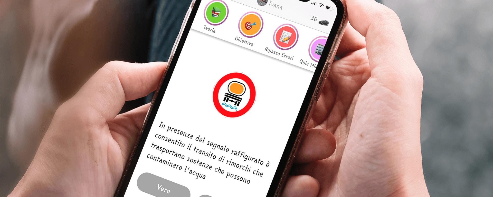 La App inclusiva: Quiz Patente con il carattere ad alta leggibilità